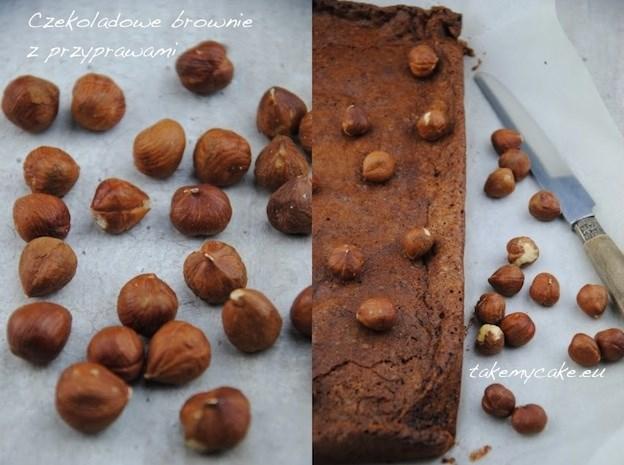 Czekoladowe brownie z przyprawami