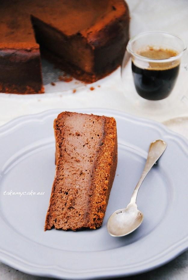 sernik czekoladowy 2