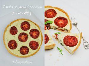 Tarta z pomidorami i ricottą