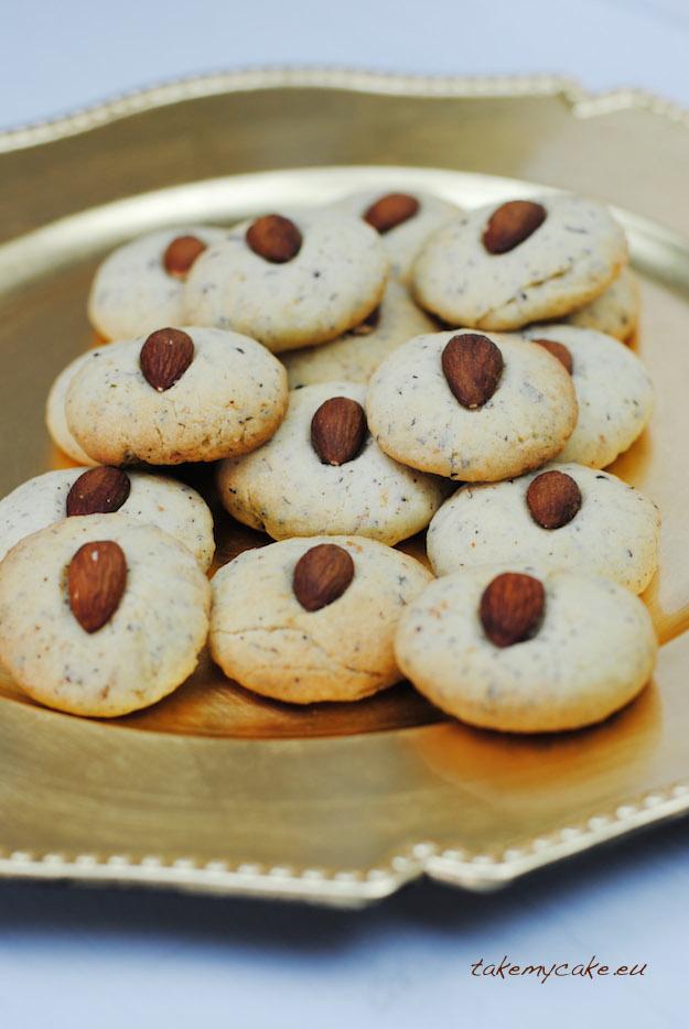 ciasteczka orzechowo-rozane