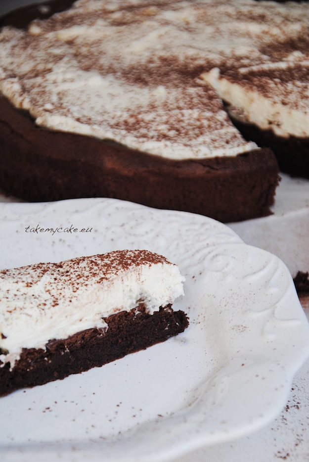 ciasto czekoladowe ze smietana