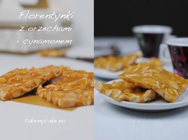 Florentynki z orzechami i cynamonem