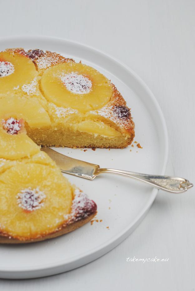 odwrocone ciasto z ananasem1