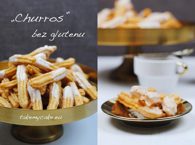 """Churros"" bez glutenu"