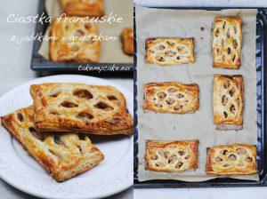 Ciastka francuskie z jabłkami i gruszkami