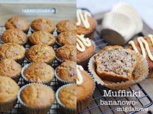 Muffinki bananowo-migdałowe
