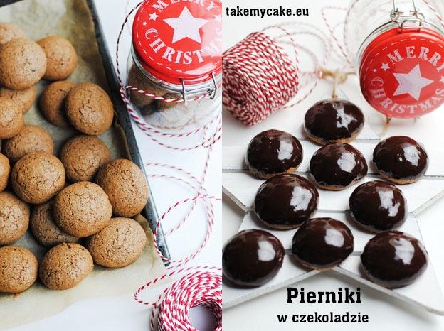 Pierniki w czekoladzie