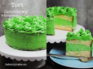Tort limonkowy z limoncello