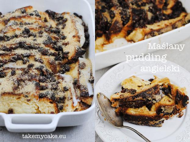 Maślany pudding angielski
