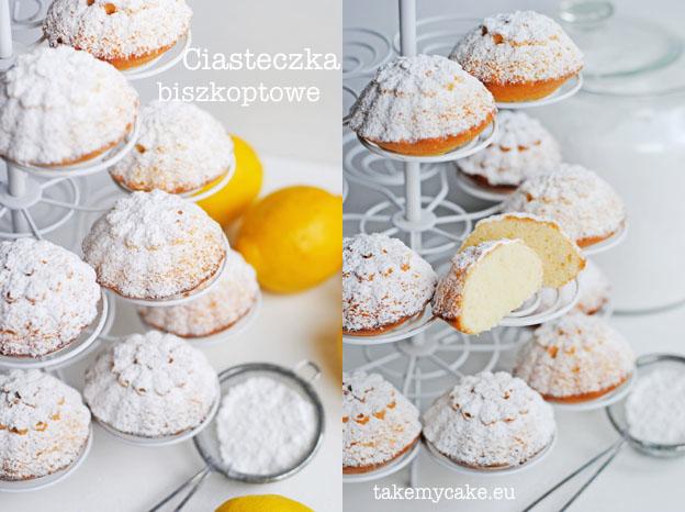 Cytrynowe ciasteczka biszkoptowe