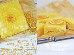 Cytrynowe brownie