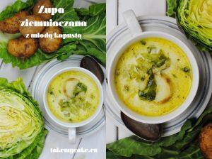 Zupa ziemniaczana z młodą kapustą