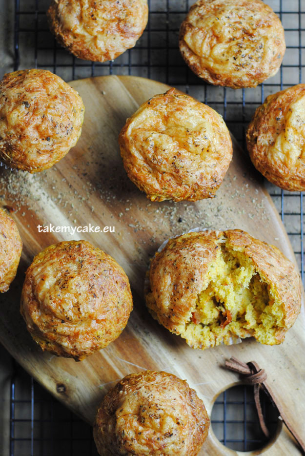 muffiny z serem