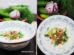 Chłodni bułgarski z orzechami