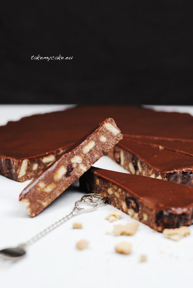 blok czekoladowy z zurawina